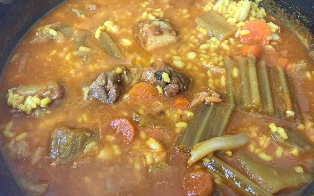 Restaurante El Convent participa en el mes de la cuchara con arrós amb fesols  i naps